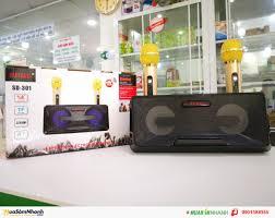 Loa Bluetooth Karaoke Mini SD-301 + Tặng Kèm 2 Mic, Mới 100%, Giá ...