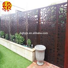 Customized Stainless Steel Decorative Garden Fence Privacy Metal Outdoor Screen Sheet Metal Fence Panel Partition Walls Buy Garden Fence Sheet Metal Fence Panel Decorative Garden Panels Product On Alibaba Com