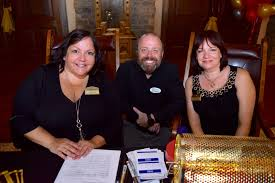 BLACK TIE: Crane's View Lodge Casino Night for New Beginnings - Lynette  Smith, Erik Segalini and Lisa Meekins chatted as they registered guests. |  West Orange Times & Windermere Observer