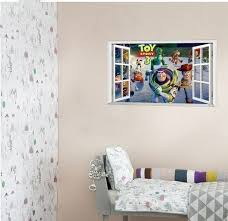 Toy Story 3 Woody Wall Decals Sticker Home Kid Decor Easy To Apply Remove Reposition And Reuse With Kids Room Wall Stickers Kid Room Decor Kids Wall Decals