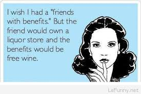 friends benefits funny user card