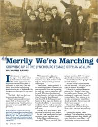 Lynch's Ferry Magazine   A Journal of Lynchburg History - Merrily We're  Marching Onward: Growing up at the Lynchburg ...