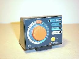 water timer with calendar function