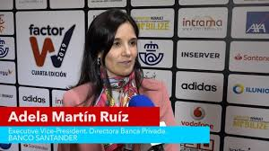 ADELA MARTIN de BANCO SANTANDER en INTRAMA - YouTube