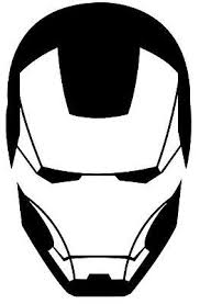 Iron Man Design 01 Face Vinyl Car Decal Sticker 20cm X 12cm View More Iron Man Superhero Emblems Easy Canvas Art
