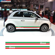 Abarth Fiat 500 595 Punto Side Stripes Graphic Decal Sticker Italian Flag Archives Statelegals Staradvertiser Com