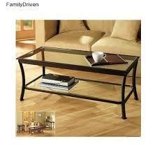 coffee table living room furniture dark