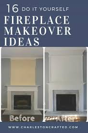 16 amazing fireplace makeover ideas to