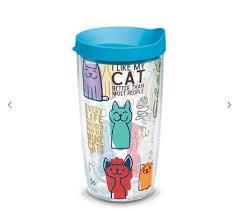 Cat Sayings 16 Oz Tumbler Heart And Home