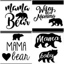 Mama Bear Decal Sticker Wall Decal Car Window Phone And Laptops Ebay