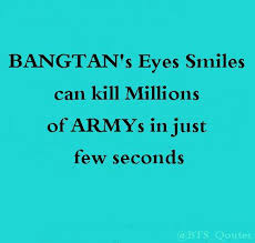 army quotes on agree hahaha go get themmmmm~ bts