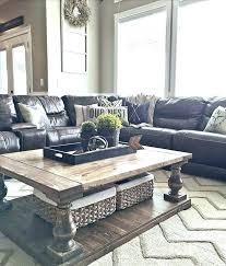 living room black leather sofa ideas