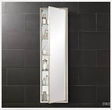 ft tall recessed medicine cabinet with