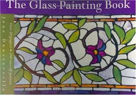 glass painting book jane dunsterville