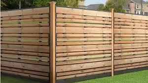 Pressure Treated Fence Panel Kits Horizontal Fence Wood Fence Design Fence Design