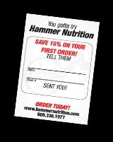 referral program hammer nutrition
