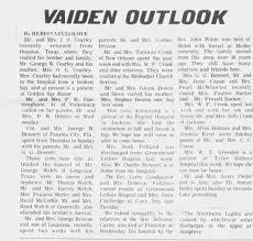 Vaiden Outlook - Newspapers.com