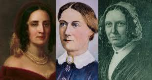 First Ladies Sarah Polk, Margaret Taylor, and Abigail Fillmore   C-SPAN.org