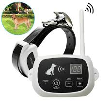 Hot Discount 7af2 500m Wireless Electric Dog Fence Shock Waterproof Rechargeable Training Collars 1 100 Levels Dog Supplies Cicig Co