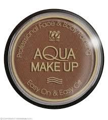 aqua makeup 30g brown makeup