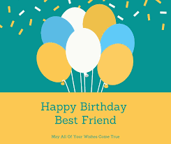 happy birthday status for best friend quote and images