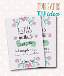 Cumple Nena Invitacion Con Flores Para Imprimir 208 73 En