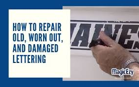 Vinyl Lettering And Pin Striping Repairs Magicezy