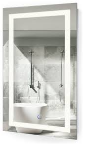 lighted mirrors bathrooms modern