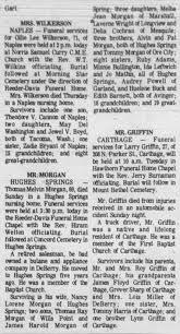 Thomas Melvin Morgan Obituary - Newspapers.com