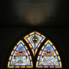 churches stained glass windows show