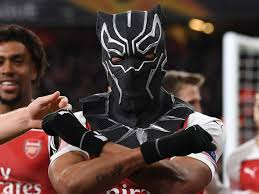Aubameyang Pays Homage To Black Panther ...