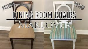 Dining Room Chairs Makeover Youtube