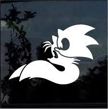 Sonic And Tales Window Decal Sticker Custom Sticker Shop