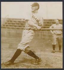 """Lot # 221: 1913 Ivy Olson, """"Dodgers Fan Favorite"""" Extremely Early Batting  Photo"""