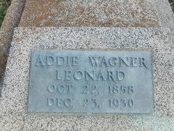 """Mary Louise Adelaide """"Addie"""" Wagner Leonard (1858-1930) - Find A Grave  Memorial"""