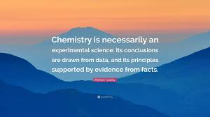 "michael faraday quote ""chemistry is necessarily an experimental"