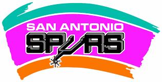 San Antonio Spurs Throwback Logo Vinyl Decal Sticker 5 Sizes Sportz For Less