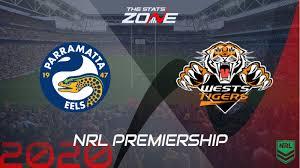 NRL – Parramatta Eels vs Wests Tigers ...