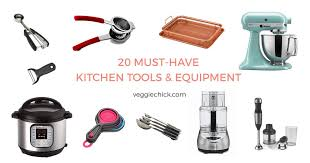 20 must have kitchen tools equipment