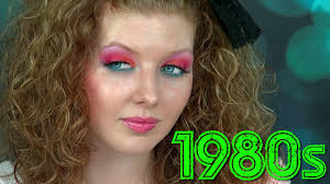 1980s makeup tutorial