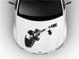 Guitar Jam Music Hood Car Decal Race Sports Grpahics Wrap Art Sticker Truck B44 Ebay