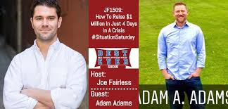 JF1509: How To Raise $1 Million In Just 4 Days In A Crisis ...