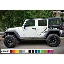 Side Splash Mud Decal Kit Jeep Wrangler Accessories Jeep Jeep Wrangler Bumpers