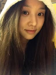 jang shin young s plain face
