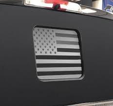 Ford F150 F250 F350 Back Middle Window American Flag Decal 2015 2018 Ebay
