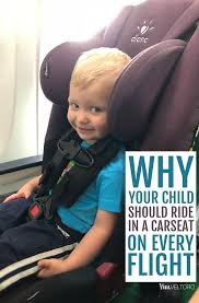 the best car seat for flying and why a