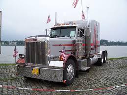 hd wallpaper peterbilt river truck
