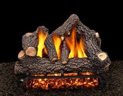 light a gas fireplace with fake logs