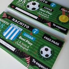 Invitaciones Para Un Fanatico Del Futbol Racingclub Futbol