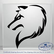Wolf Car Sticker Funny Fox Dog Jdm Auto Bumper Window Vinyl Decal Truck Banner Ebay